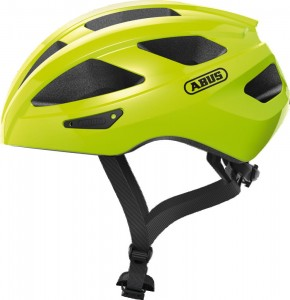 Kask rowerowy Abus Macator Signal yellow L 58-62 cm